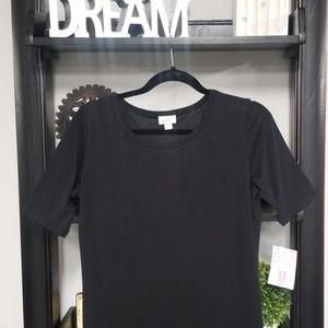 Black Lularoe Julia dress Medium